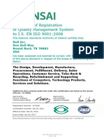 Dell Worldwide Iso9001