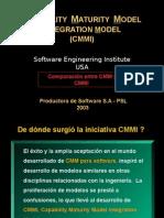 Estructura y Lógica CMMI - Comparación Con CMM