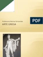 Arte Grega, apresentação para aula de conceitos básicos