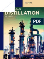 Distillation the Theory