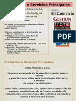 Producción o Servicios Principales-grupo comercio.pptx