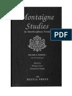 Montaigne Studies 2