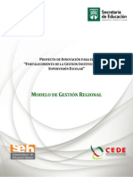 Modelo de Gesti-¢Ã³n Regional