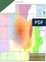 Peta Wilayah Gunung Sinabung (Dowlonad Dari Bakosurtanal.go.Id)