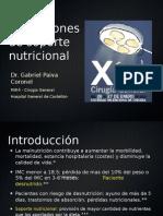Indicaciones de Soporte Nutricional