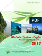 Maluku Dalam Angka 2013