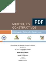 Materiales CONSTRUCTIVOS CERAMICOS