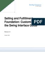 Customizing the Swing Interface