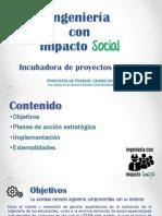 Ingenieria Con Impacto Social CAAIND 2015