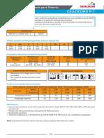 Ficha Tecnica Cellocord 6010 P-t