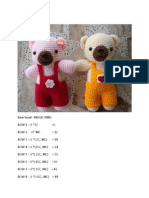 Bear in Bib by Kok Samet crochet pattern