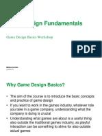 25462 Games Design Fundamentals Slides