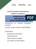 METODOS ELECTROQUIMICOS