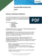 Direito Constitucional Inss Analista 2013 Intensivo Aprova Premium