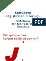Reforma Direnç - Fatih Özatay