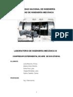 Compresor de Dos Etapas Informe
