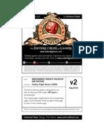 Warhammer Fantasy Roleplay 3rd Edition Rules Summary