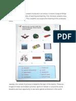 Curriculum Final Paper Visual