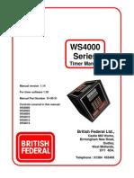 WS4000 Manual