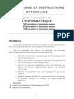 CPGE programme2010