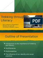 literacy as trekking