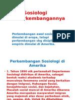 Sosiologi Di As