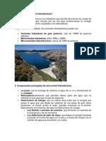 caracteristicas de una central hidroelectrica