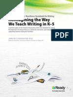 Reimagining the Way We Teach Writing Whitepaper