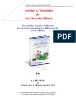 Extrait du Guide des Recettes et Remèdes de nos Grands-mères