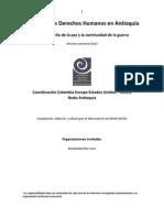 Informe Semestral DDHH Antioquia 2014