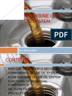 Steam Turbine Lube Oil and Control Oil System