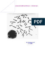 Human Chromosomes in Health and Disease - a Virtual Tour. 17th February 2010
