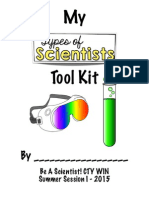 types of scientists tool kit