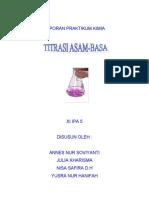 titrasi HCl - NaOH oleh PP