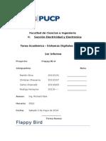 Flappy bird program in C