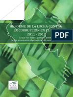 Informe Anticorrupcion 2011-2012