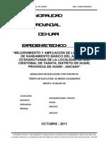 78248491 Expediente Tecnico de Agua Potable Final