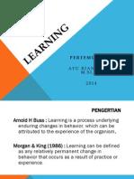 Kuliah 1-2 - Learning Dan Classical Cond-2014