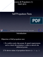 Lecture 14 - Self Propulsion Test