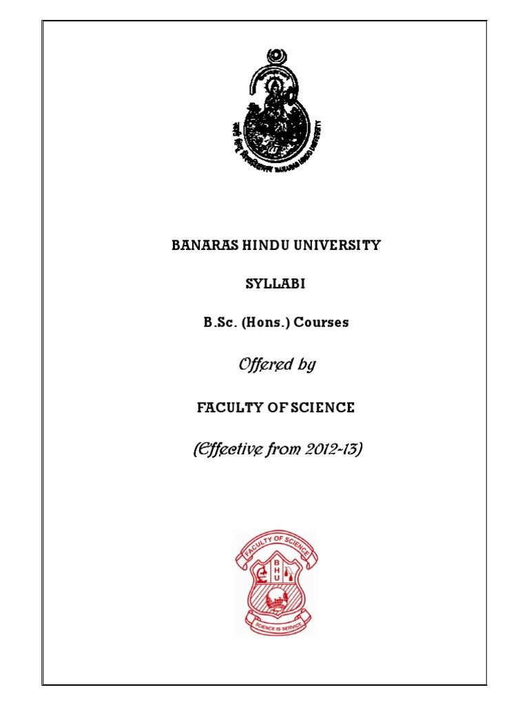 B hons syllabus for delhi university chemical reactions entropy fandeluxe Gallery