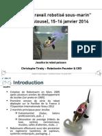 Christophe Tiraby Robotswim Jessiko Robot Fish 16 Janv 2014