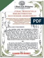 Bilateral Minesfield Breakthrough Successor Agreement