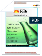 Cbse Class 12th Ncert Chemistry Solutions-chapter-10 e Book