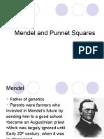 Mendel and Punnet Squares