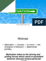 Sesi 10 - Motivasi 1