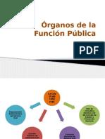 Órganos de La Función Pública
