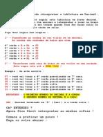 001 - Aprenda Ler e Interpretar as Tablaturas de Solos Em Decimal ( AULA de VIOLÃO )