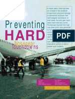 Preventing Hard Nosegear Touchdowns