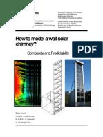 Modelling Chimney Solar