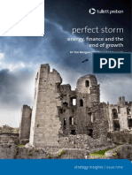 Tullett prebon Perfect Storm. Energi finance and the end of grow